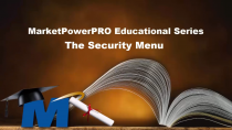 A Security Menu Built for MLM Software – by MLM Software provider MultiSoft Corporation CEO and President Robert Proctor